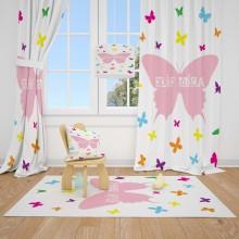 Детские шторы Бабочки 3