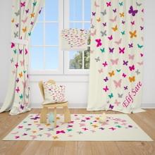 Детские шторы Бабочки 4