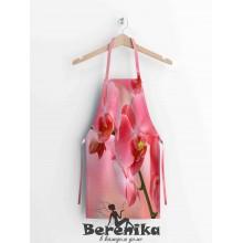 Фартук Розовая орхидея