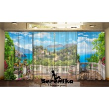 Фотопортьеры Сицилийский балкон