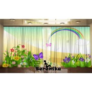Фотошторы Весенняя радуга