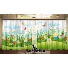 Фотошторы Весенние бабочки