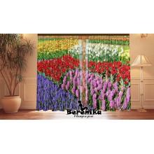 Фотошторы Цветочный сад
