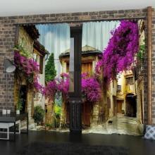 Фото Штори Італійська вулиця
