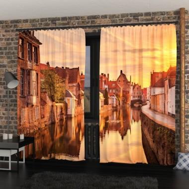 Фото Штори Світанок в Бельгії