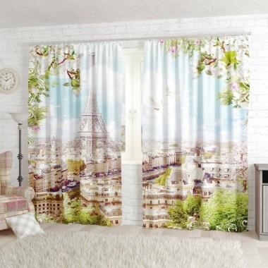 Фото Штори Романтичний Париж
