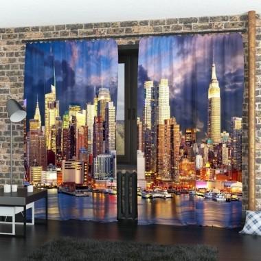Фото Штори Закат над Манхеттеном