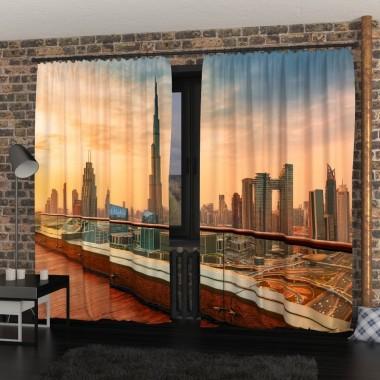 Фото Штори Закат в Дубаї