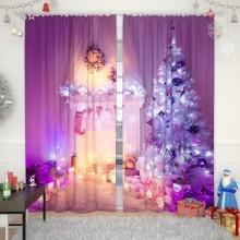Новогодние шторы коллекция 1