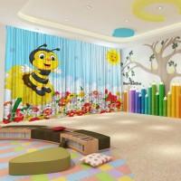Штори для дитячого садка Бджілка
