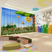 Штори для дитячого садка Бджілка 2