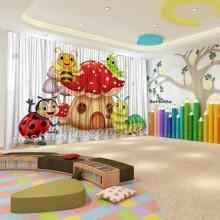 Штори для дитячого садка Бджілка 3