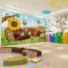 Штори для дитячого садка Бджілка 5