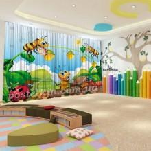 Штори для дитячого садка Бджілка 8