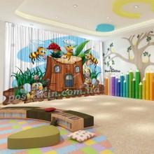 Штори для дитячого садка Бджілка 9