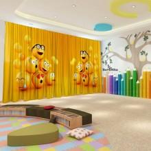 Штори для дитячого садка Смайлики