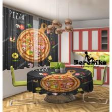 Фотошторы Пицца 4