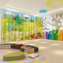 Штори для дитячого садка Осінь 13
