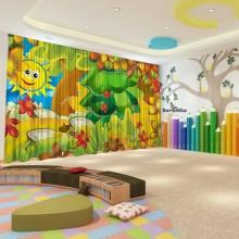 Штори для дитячого садка Осінь 14