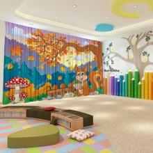 Штори для дитячого садка Осінь 15