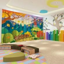 Штори для дитячого садка Осінь 17