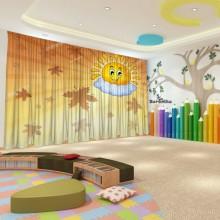 Штори для дитячого садка Осінь 18