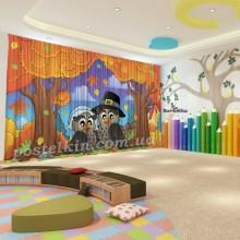 Штори для дитячого садка Осінь 20