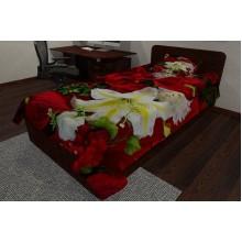Фотопокрывало Лилия и розы