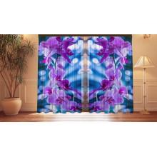 Фотошторы Орхидеи в бликах