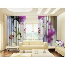 Фотошторы Орхидеи 4
