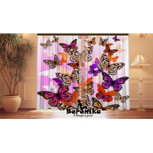 Фотошторы Веселые бабочки 2