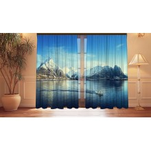 Фотошторы Альпийское озеро