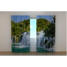 Фотошторы Водопад в тропиках