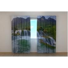 Фотошторы Большой водопад