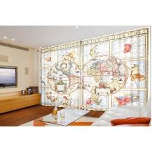 Панорама Античная карта мира
