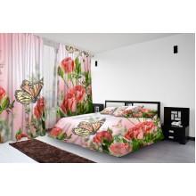 Фотокомплект Бабочка на розе