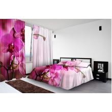 Фотокомплект Пурпурные орхидеи