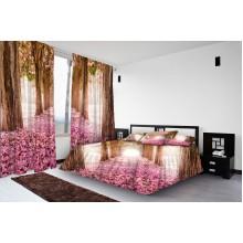 Фотокомплект Розовые деревья